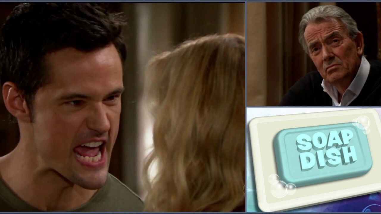 SOAP DISH: Adam learns Victor is alive on Y&R; Thomas threatens Brooke onB&B