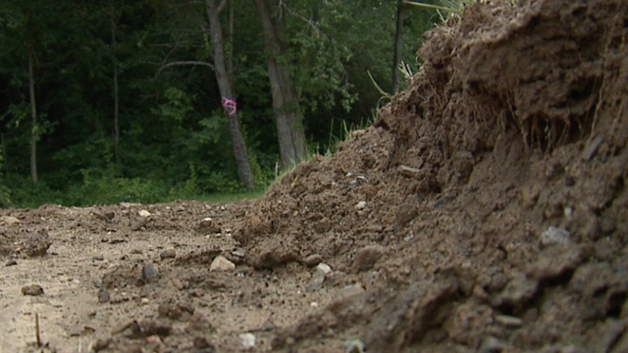 Wadsworth homeowners fight final grading issues