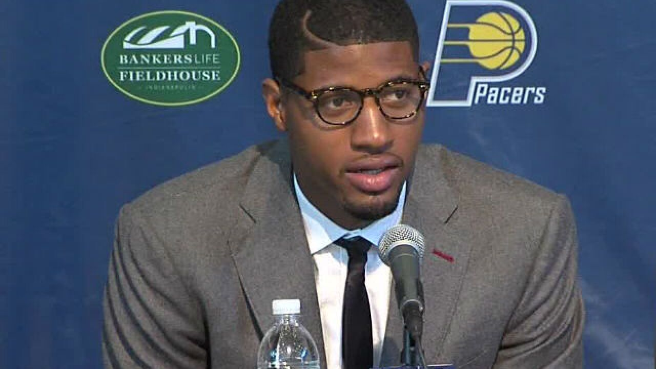 Home of Pacers' Paul George burglarized