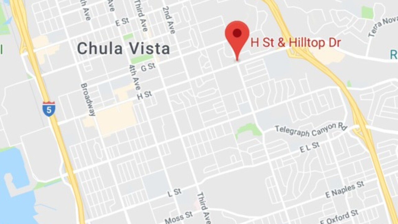 Woman hit, killed by car on Chula Vista street