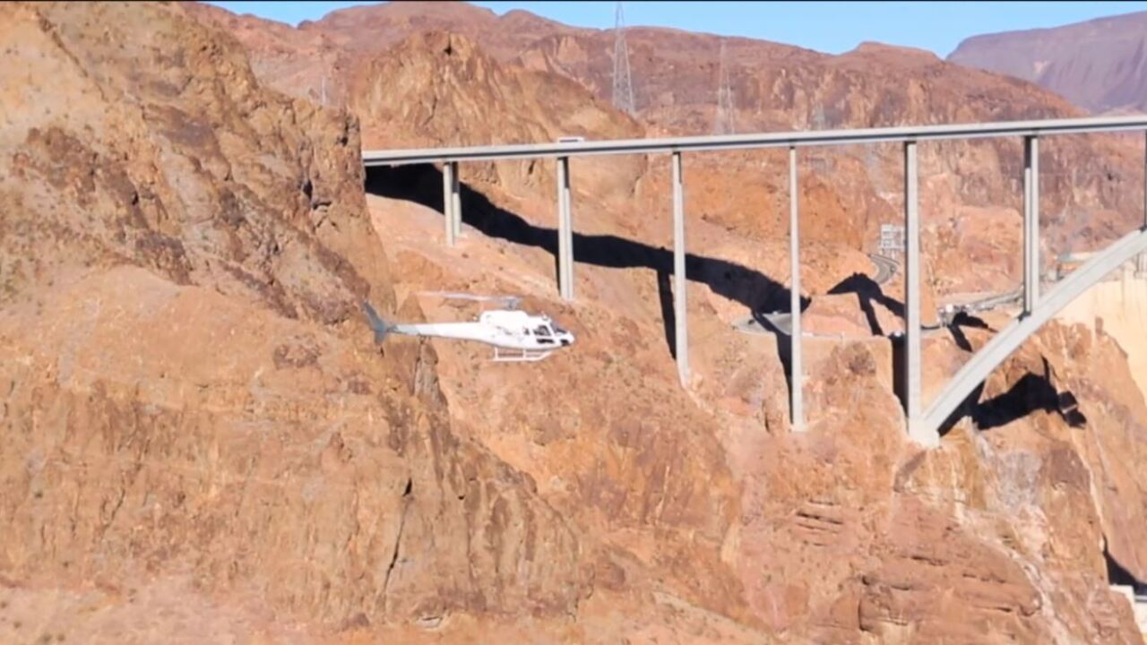 President and Vice President visit Las Vegas tour helicopter companies see severe flight restrictions for security reasons