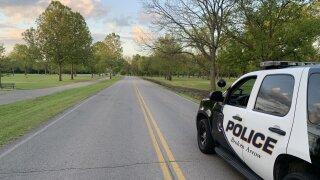 Broken Arrow Police at Haikey Creek Park
