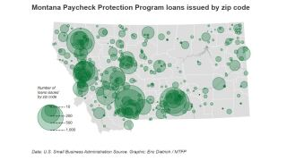 Which Montana businesses got Paycheck Protection loans?