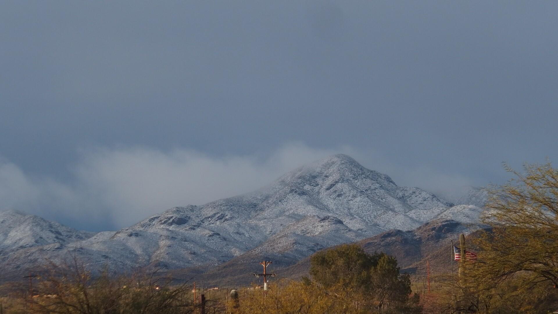 Snow on Wasson Peak