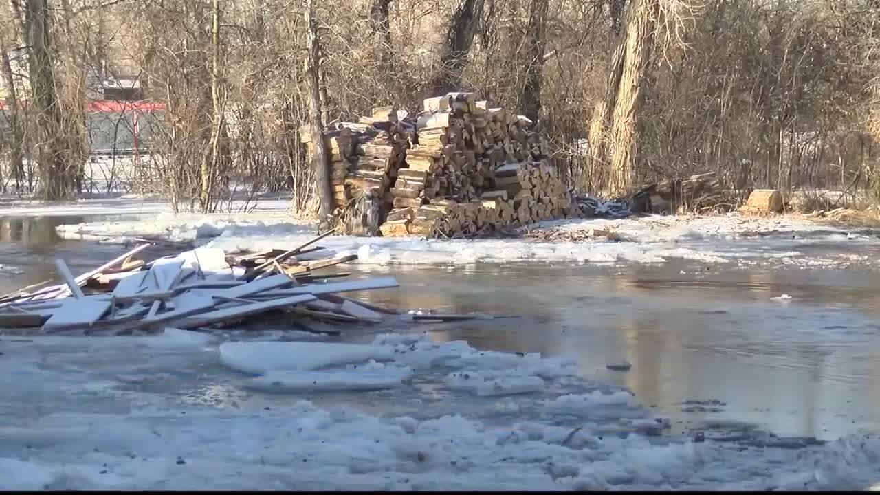 Choteau flood cleanup eased by flood control