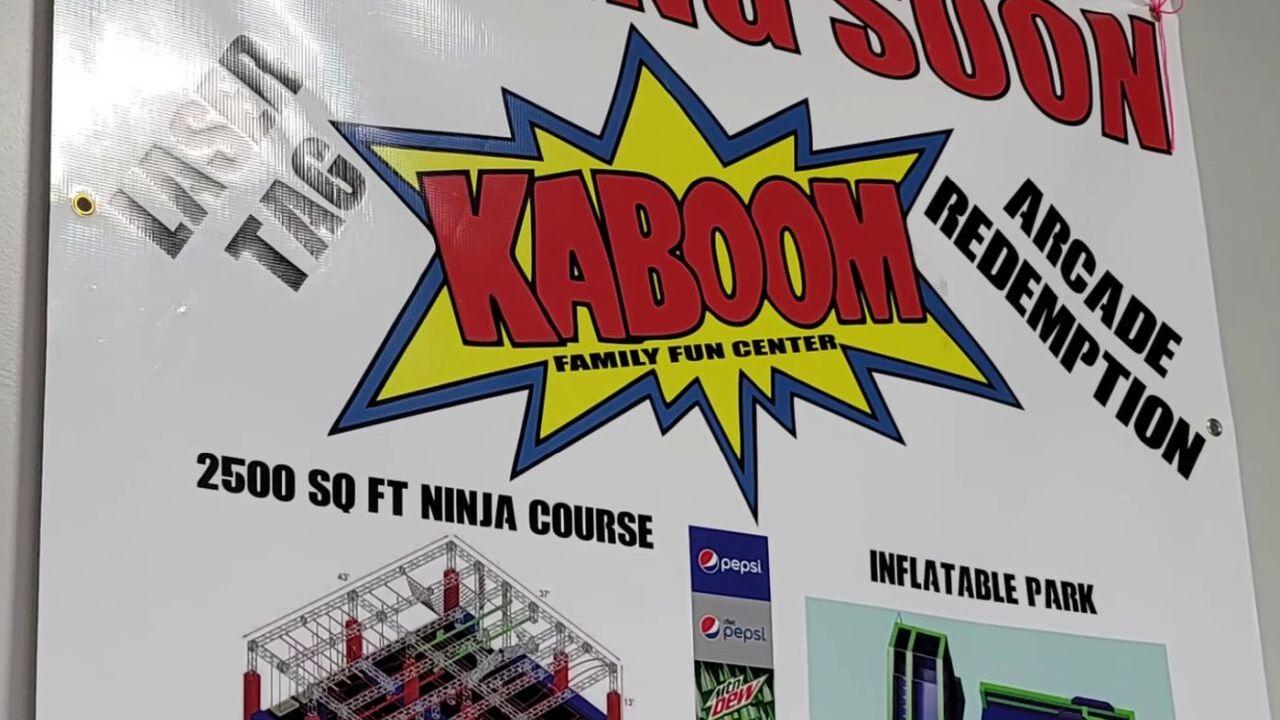 Kaboom opening soon in Great Falls