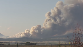 North Hills Fire reportedly burning at least 5,000 acres