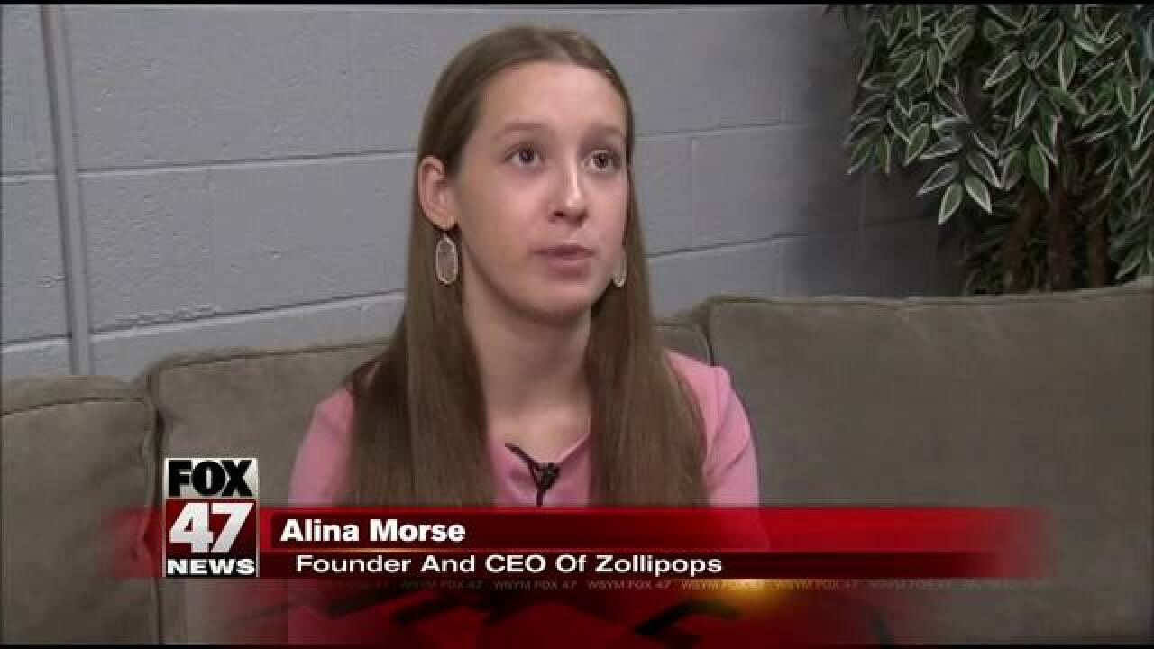 Zollipops - a sweet success & run by 13-yr-old