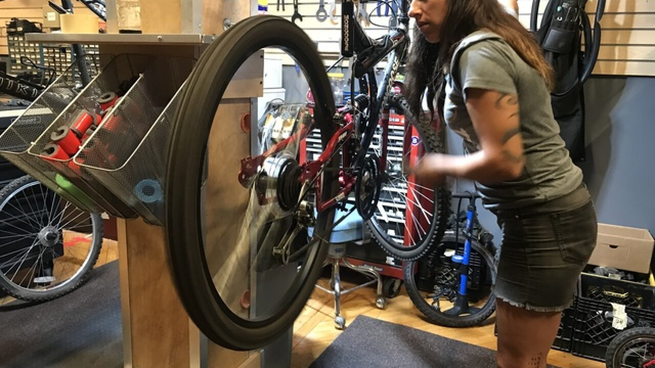 KC Program gifts kids, adults with new bicycles