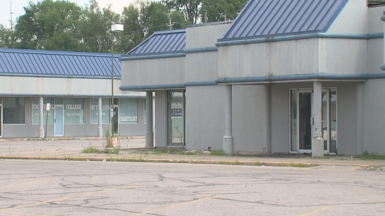 Condition of Irvington Plaza causes concern