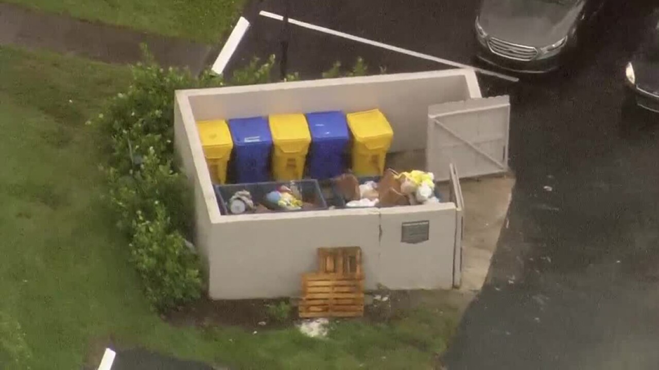 Newborn baby found alive in dumpster in suburban Boca Raton, PBSO says