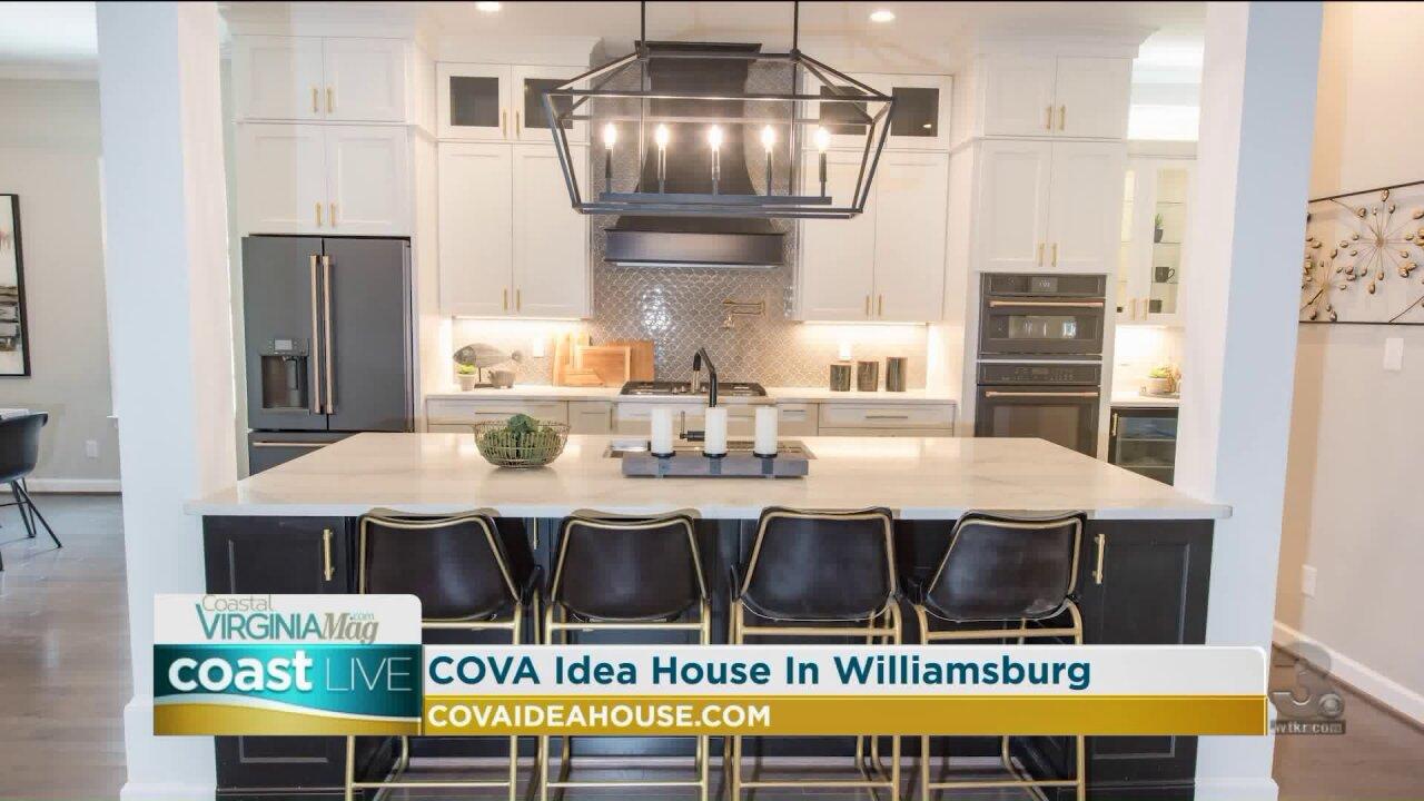 Previewing the Williamsburg Coastal Virginia Magazine Idea House on CoastLive
