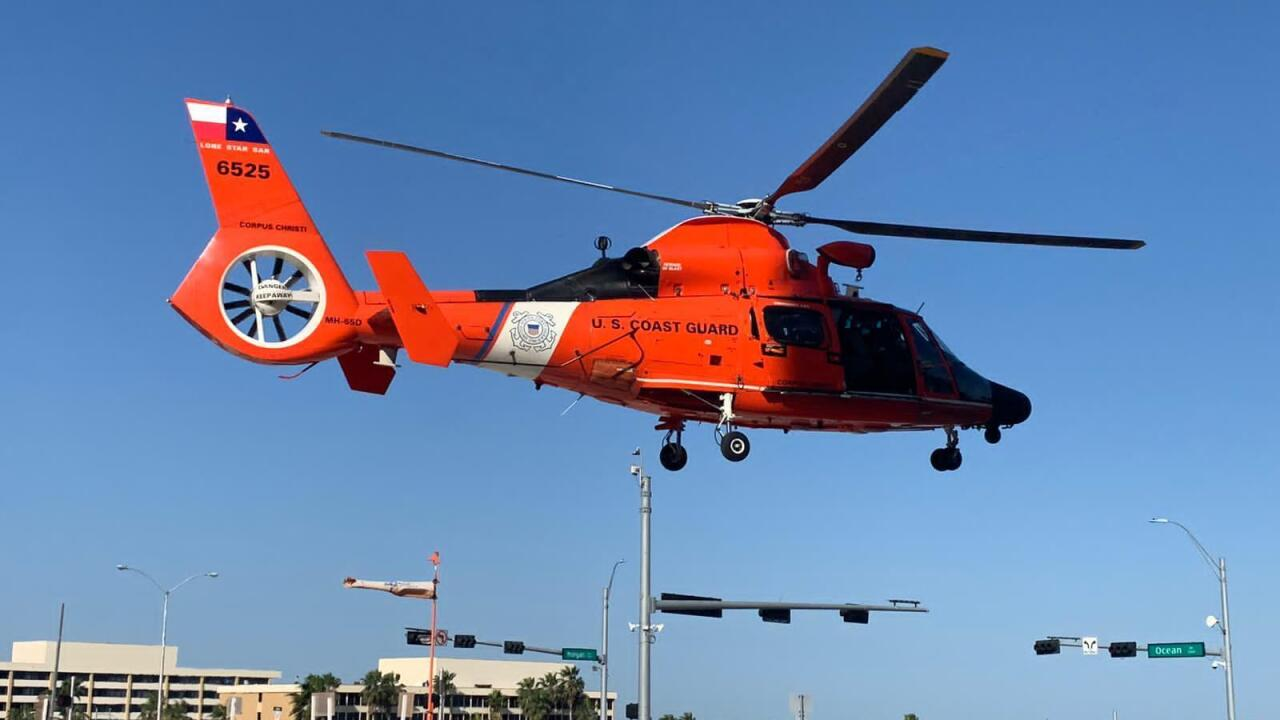 Coast Guard medevacs mariner offshore Corpus Christi, Texas
