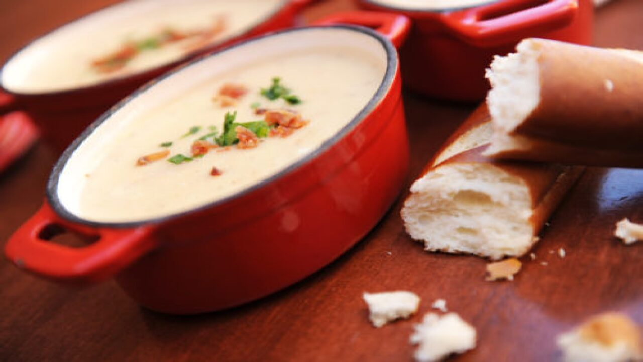 Disney Just Shared Their Famous Cheddar Cheese Soup Recipe And We Can't Wait To Make It At Home