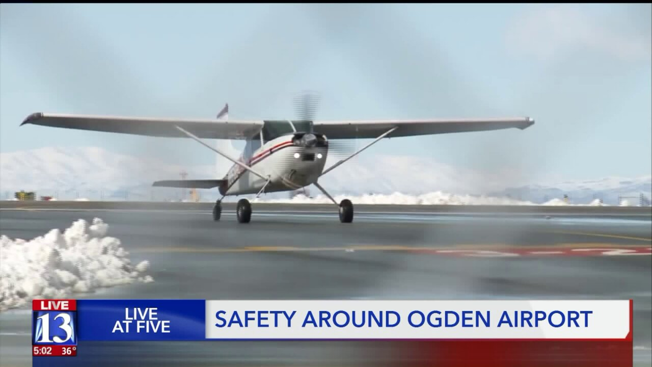 Roy mayor and Ogden airport manager meet to discuss small planeaccidents