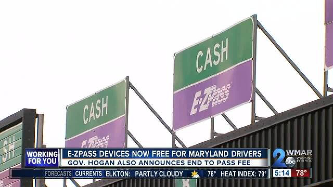 E-ZPass fees eliminated and tolls lowered