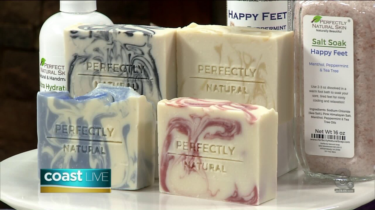 Locally made soap crafted from natural ingredients on Coast Live