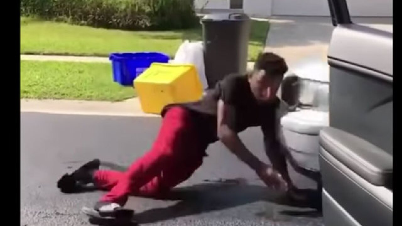Florida man hit by car during failed 'In My Feelings' challenge