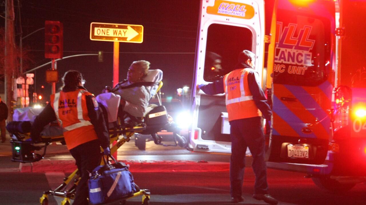 Three Car Union Avenue Accident
