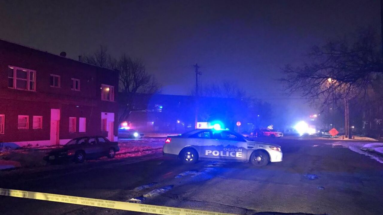 Suspect surrenders to SWAT team after fatal shooting in Ogden