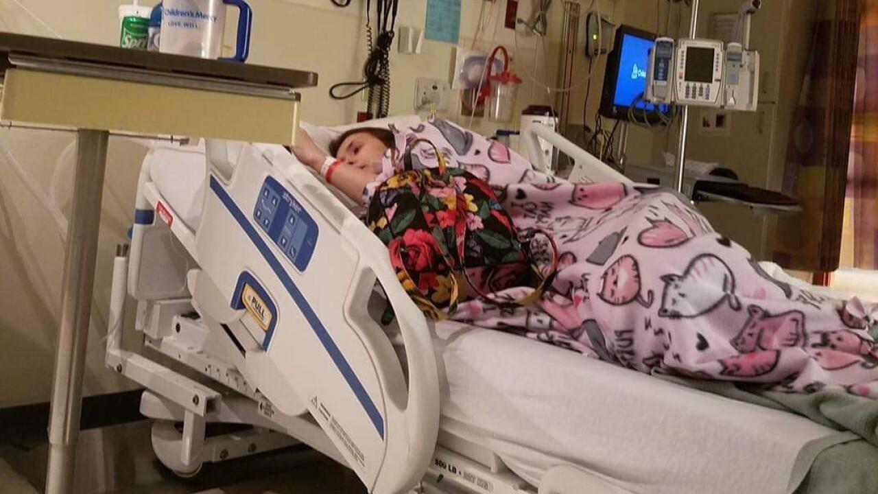 Kathryn Deloia hospitalized for vaping