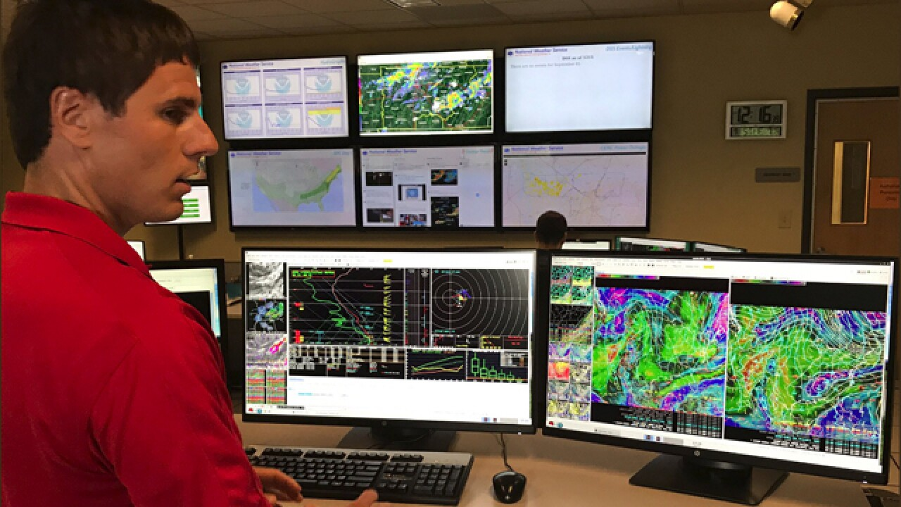 NWS, Red Cross Track Irma From Nashville