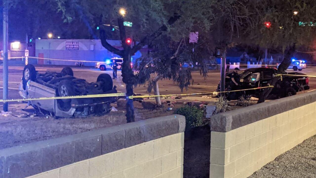 7th Street and Buckeye Road Crash
