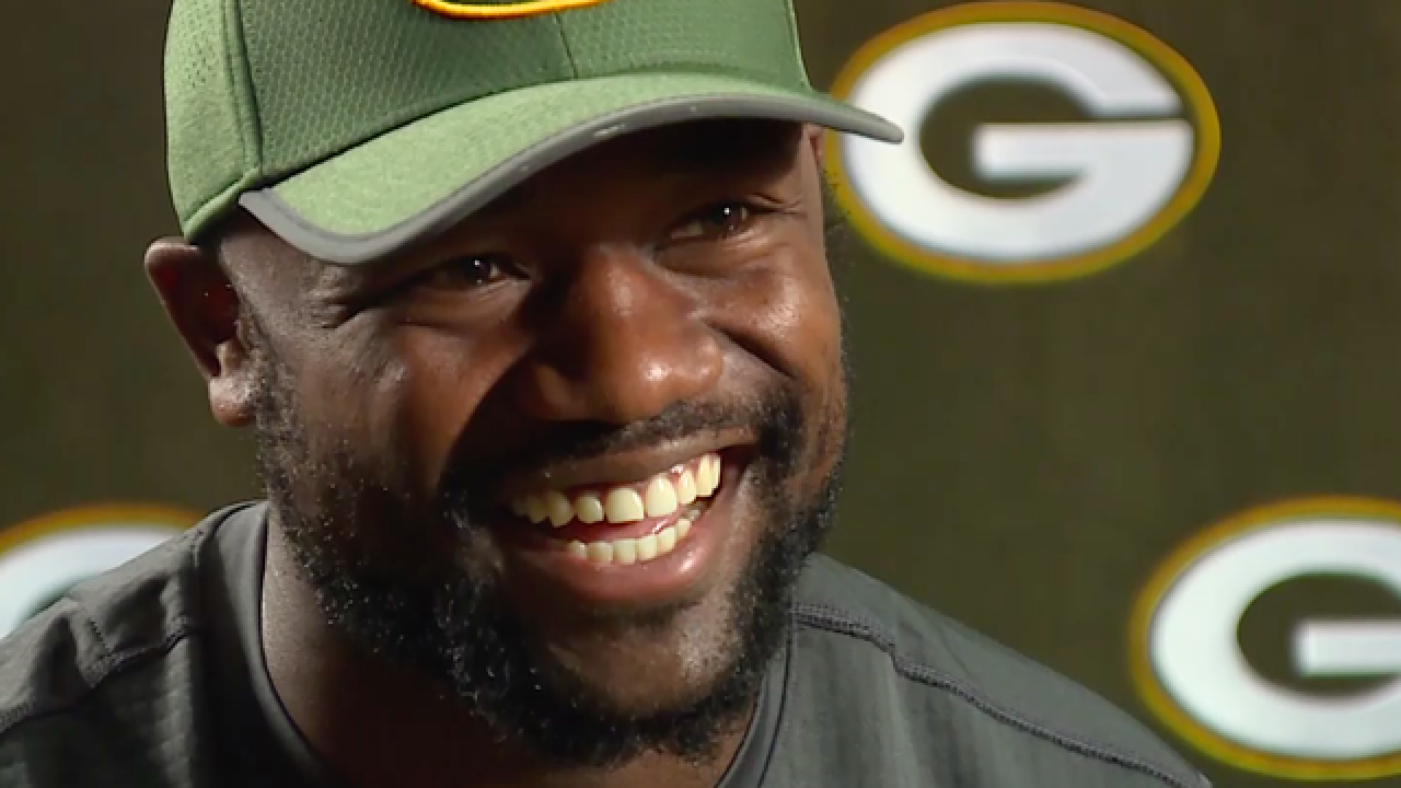 NBC26 Exclusive: Ty Montgomery on video games, softball and pass protection