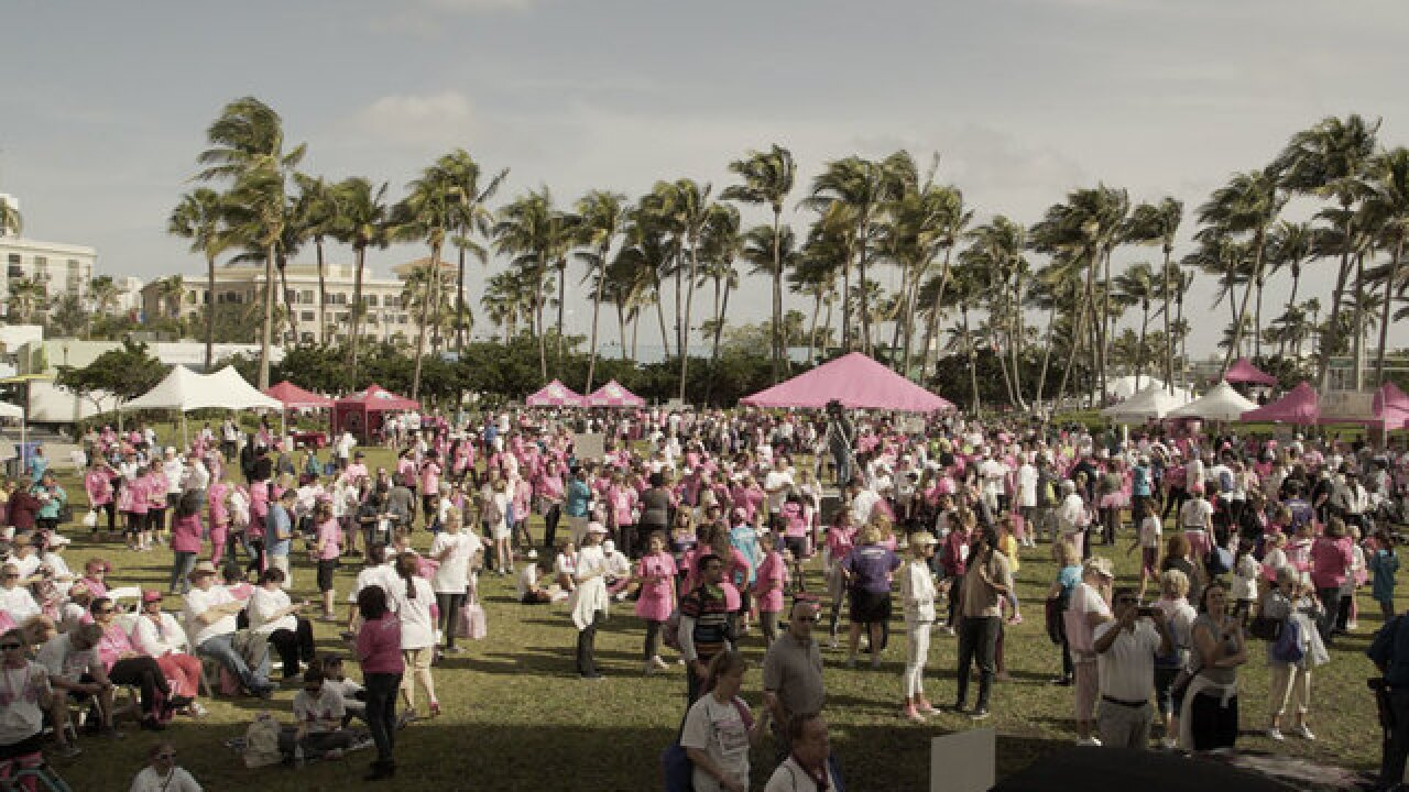 Thousands 'Race for the Cure' in West Palm Beach