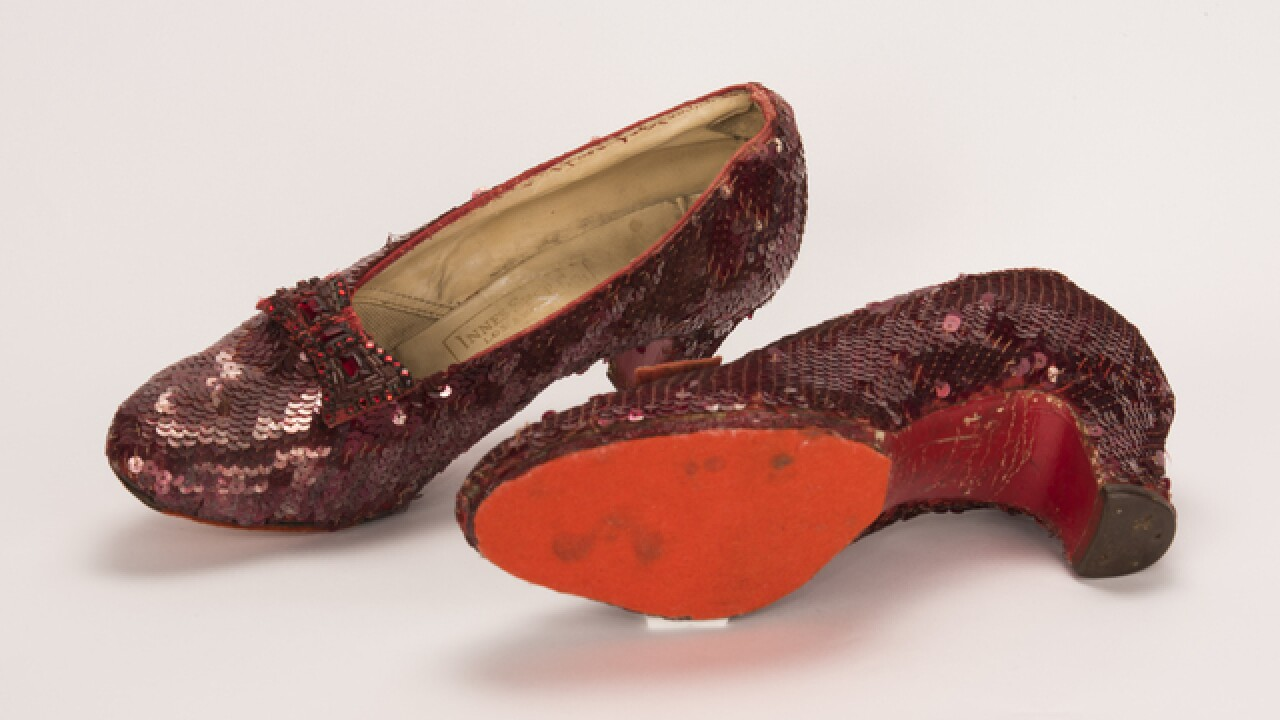 a27142e75da Stolen  Wizard of Oz  ruby red slippers worn by Judy Garland found decade  later