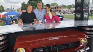 Photos: Behind-the-scenes with Channel 7 at the Woodward Dream Cruise