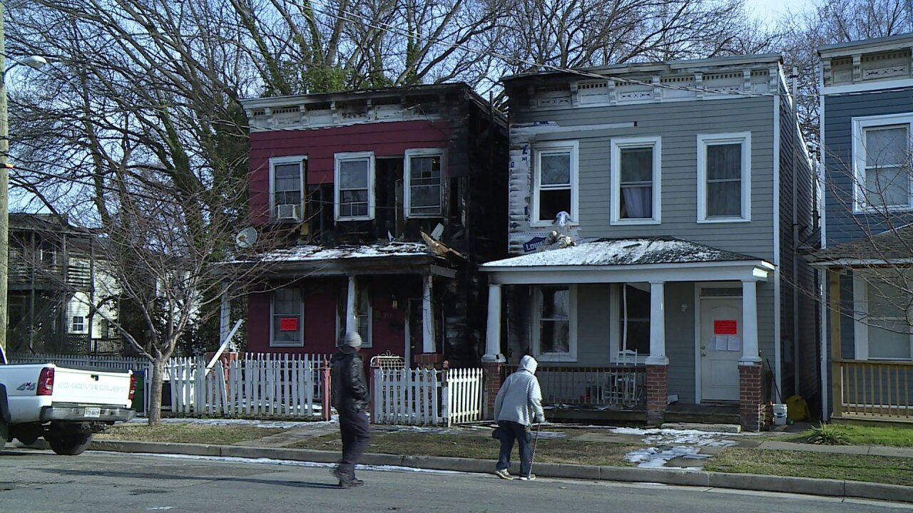 Church Hill house fire leaves 5 without a home