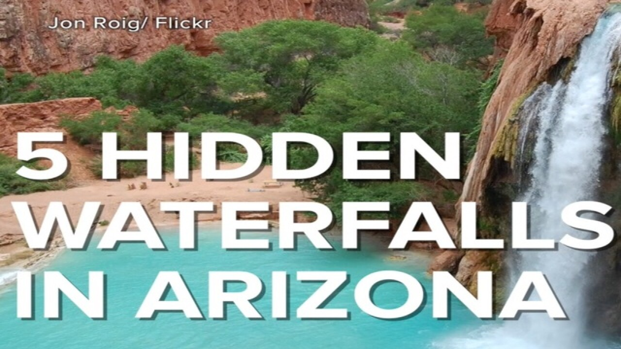 Hidden waterfalls: 5 AZ wanderlust destinations