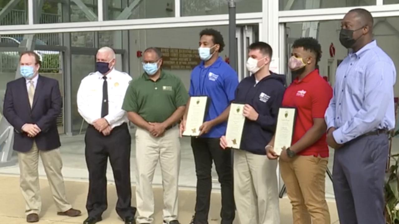 Roger Carter Community Center life saving awards