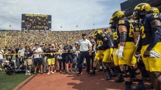 Jim Harbaugh W Michigan Michigan Football
