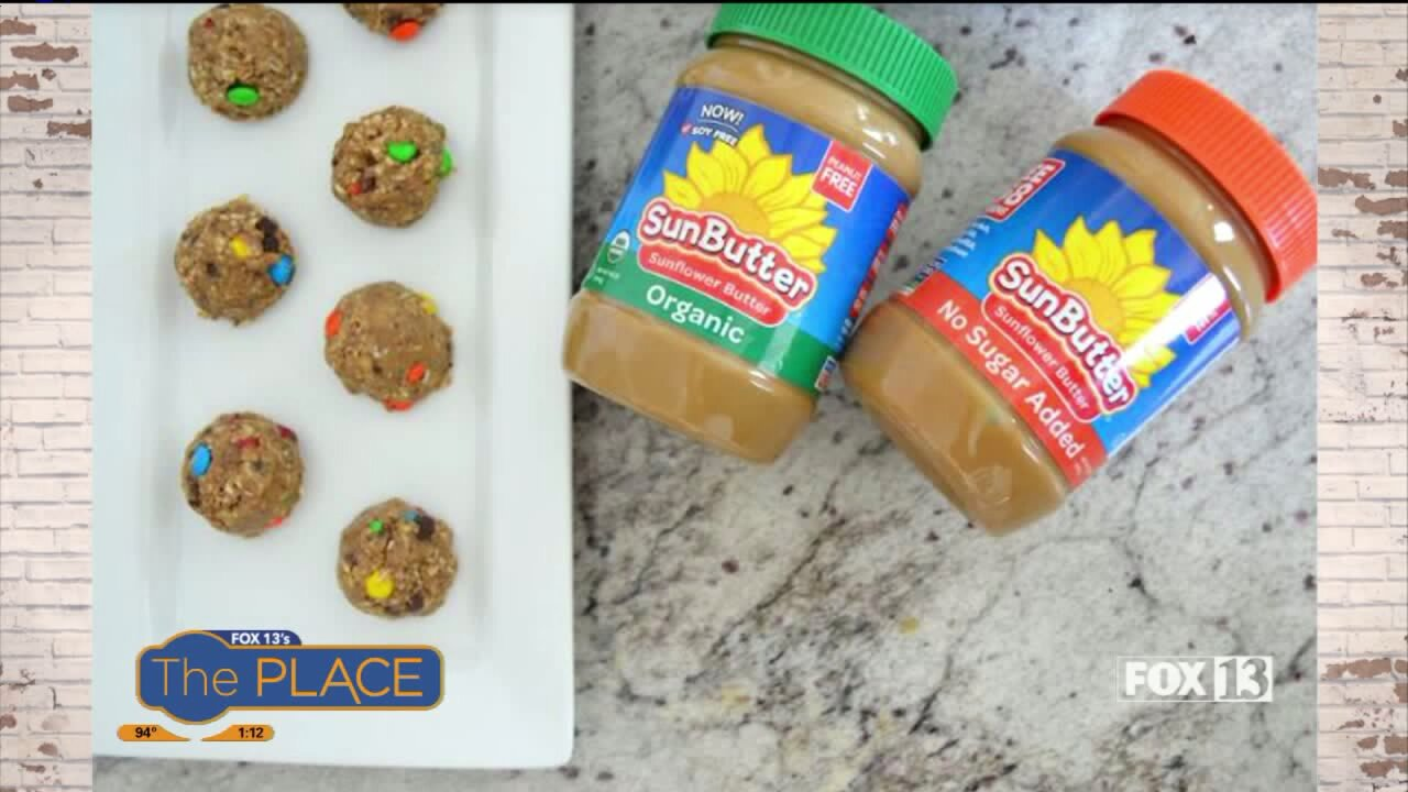 Recipe: Sun Butter Monster Protein Bites and Kettle Corn