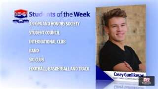 Students of the Week: Casey Gunlikeson and Holli Kovatch of Sweet Grass County High School