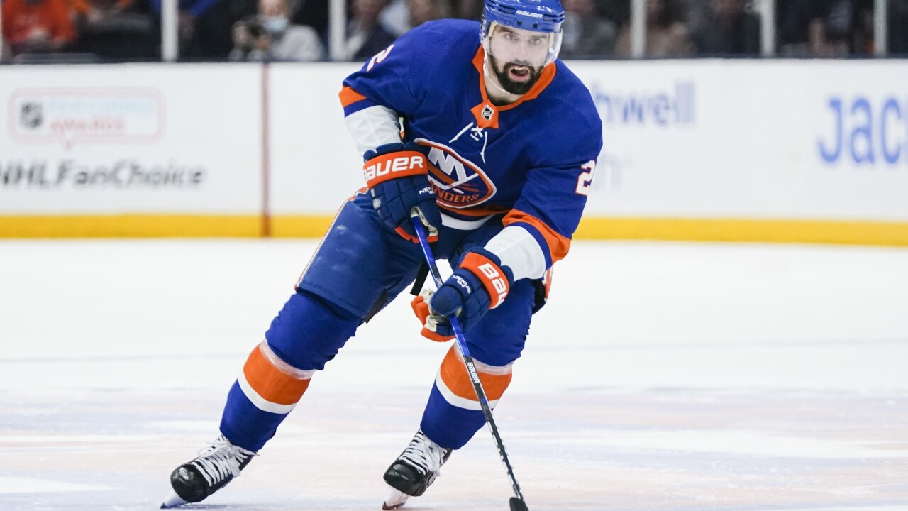 Nick Leddy Bruins Islanders Hockey