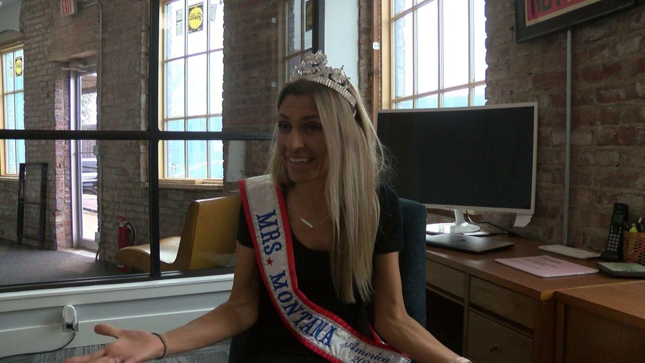 "Catherine Mertz of Great Falls won the title of ""Mrs. Montana."""