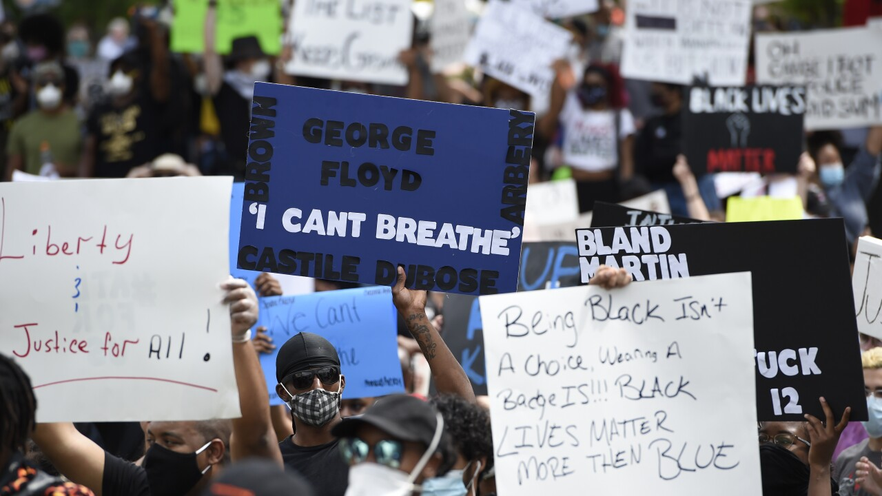LIVE: Unrest over George Floyd's death continues for fourth day