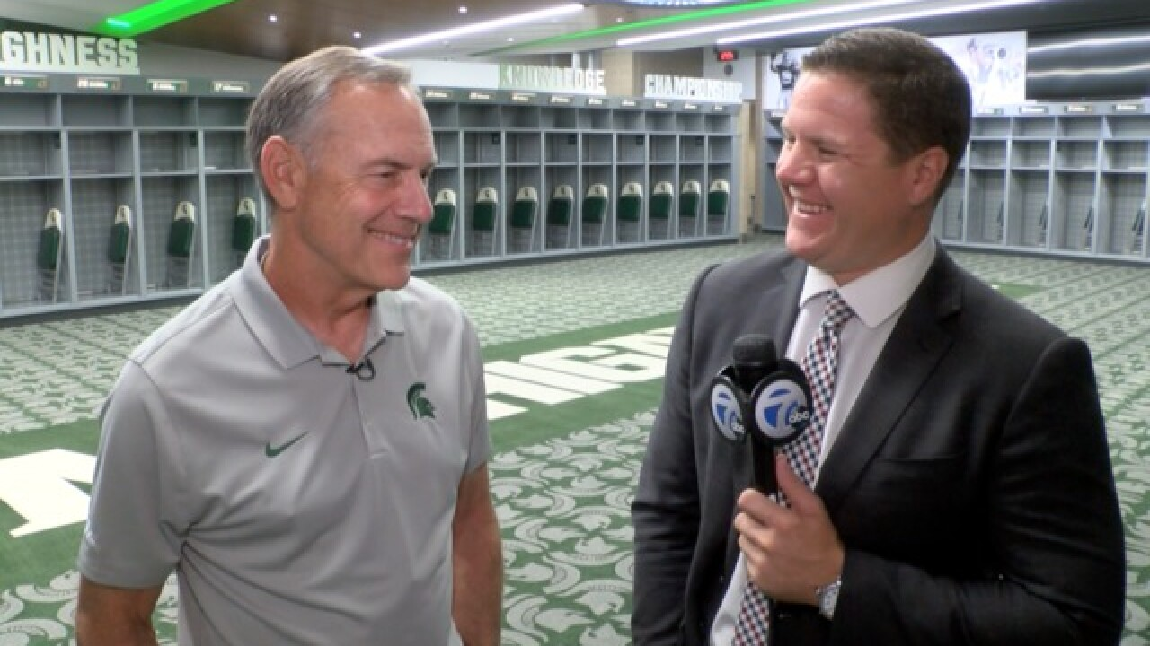 WATCH: 1-on-1 with MSU's Mark Dantonio