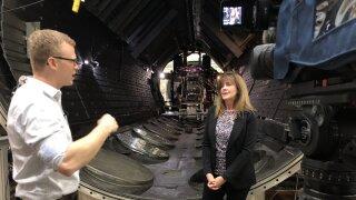 Trent at NASA Glenn