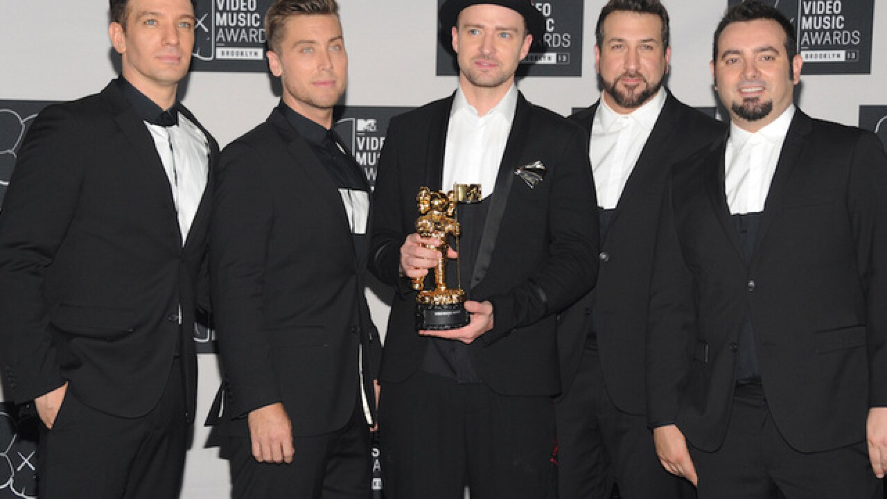 'N Sync reunites for J.C. Chasez's birthday
