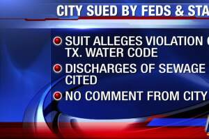 Suit filed against city for violation of Clean Water Act