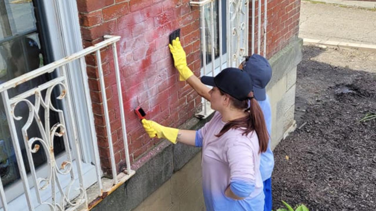 YWCA vandalism anti-semetic