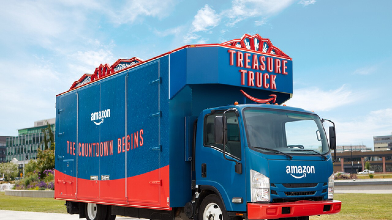 Forget the ice cream truck: Amazon is bringing its 'Treasure Truck' to Denver