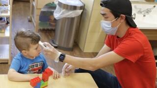 Virus Outbreak Child Care