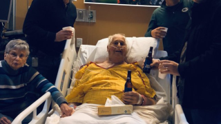 Wisconsin man's dying wish was granted when he shared a final beer with his sons