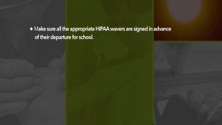 Univera Healthcare: Do you have a child heading off to college?