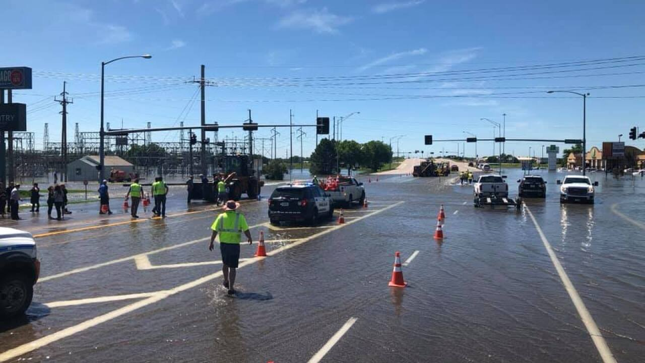 At least 300 people have been evacuated due to severe flooding in Nebraska
